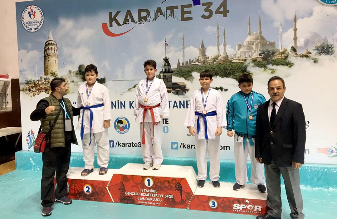 Karatede Üç Şampiyonluk Kazandık