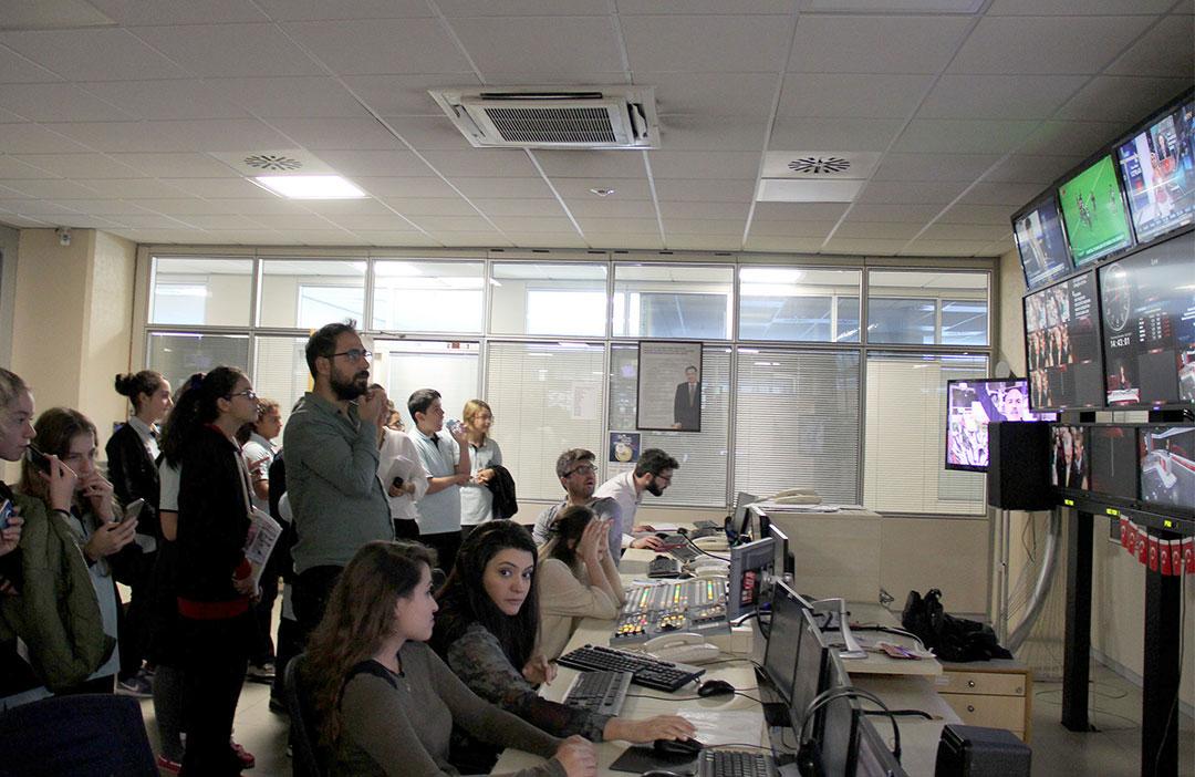 Öğrencilerimiz İhlas Medya'da Ders Yaptı