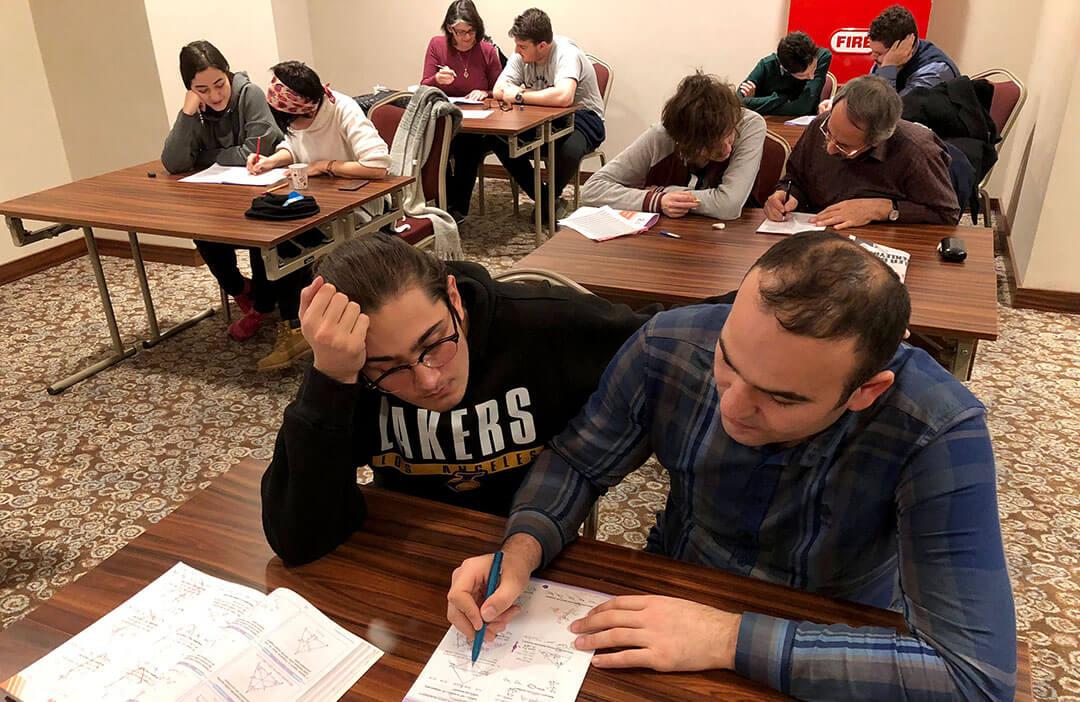 Öğrencilerimiz YKS Kampına Girdi