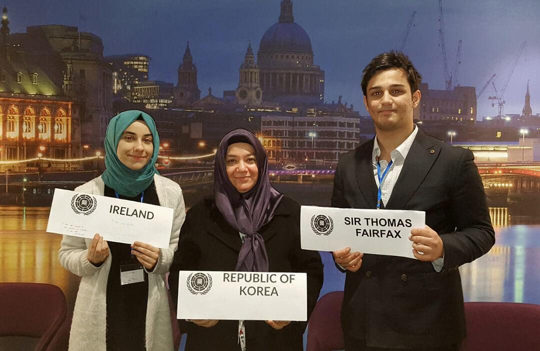 Öğrencimize İngiltere'den Ödül
