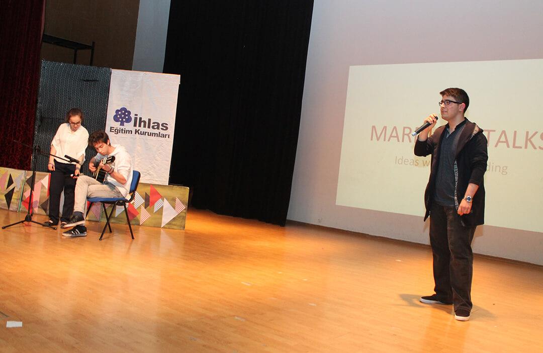 Marmara Talks Rüzgârı Esti