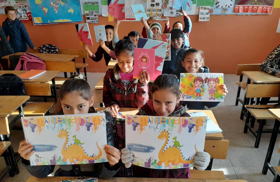 İhlas Kolejinden Urfa'ya Yardım Köprüsü