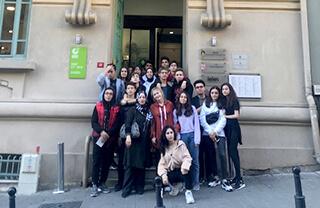 Özel Marmara Evleri İhlas Anadolu Lisesi öğrencileri Almanca dilini kültürel olarak tanımak amacıyla İstanbul'da bulunan Goethe Enstitüsü'nün hazırlamış olduğu etkinliğe katıldılar.
