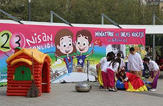23 Nisan'ı Miniatürk'te Kutladık