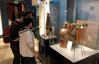 İslam Bilim ve Teknoloji Tarihi Müzesini Ziyaret Ettik