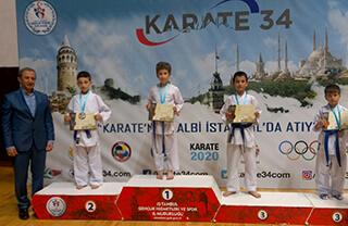 Karate Ligi Şampiyonumuz Barkın Efe Koca