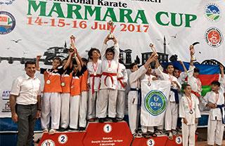 Karatecilerimiz Tatamide Gürledi