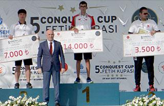 Öğrencimiz milli okçu Mete Gazoz, bu yıl 5.'si düzenlenen Uluslararası Fetih Kupası'nda Klasik Yay Erkeklerde şampiyon oldu.