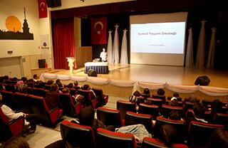 Mezunumuz Dr. İbrahim Sarbay'dan Öğrencilerimize Temel İlk Yardım Eğitimi