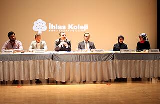 Özel Marmara Evleri İhlas Anadolu ve Fen Lisesi tarafından her yıl düzenlenen Mesleki Tanıtım Projesi (METAP)'da İhlas Koleji mezunları ve öğrenciler bir araya geldiler.