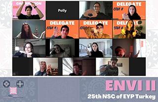 İhlas Koleji, bu yıl 25.'si online olarak düzenlenen Avrupa Gençlik Parlamentosu 25.Ulusal Seçim Konferansı etkinliğinde 6 öğrencisiyle temsil edildi.
