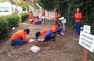 Öğrencilerimiz Arkeolojik Kazı Çalışması Yaptılar