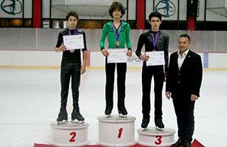 Öğrencimiz Buz Pateninde Şampiyon Oldu