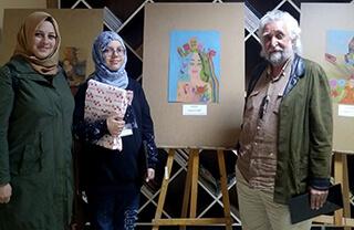 İstanbul Aşık Veysel Güzel Sanatlar Lisesi tarafından düzenlenen resim yarışmasında Özel Marmara Evleri İhlas Ortaokulu öğrencisi Ayşe Levent İstanbul ikincisi oldu.