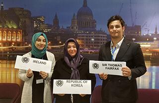 Öğrencimiz Aysu Ölmez, Westminster Üniversitesi tarafından yapılan WestMUN18 Model Birleşmiş Milletler Konferansı'nda