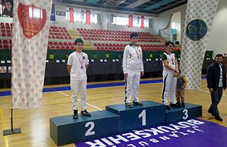 Okçuluk Kulübümüz sporcusu Kadir Kot, Kulüpler Arası Okçuluk İl Şampiyonası'nda İstanbul ikincisi oldu.