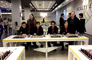 İhlas Koleji Satranç Takımı İstanbul Finallerinde