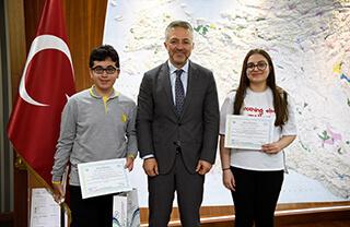 Su Projesi Yarışmasında Türkiye İkincisi Olduk
