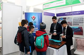 TÜBİTAK Liselerarası Proje Yarışması'nda İhlas Koleji öğrencileri Hayri Yağız İpek ve Mehmet Taha Kaplan Türkiye finallerinde coğrafya dalında