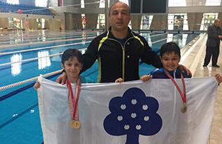 Yüzmede Beylikdüzü Şampiyonluğu