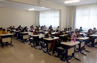 Okullarımızda Bursluluk Sınavı Heyecanı