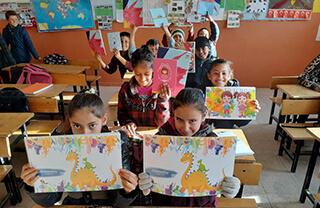 Özel Marmara Evleri İhlas Anadolu ve Fen Lisesi'nin sosyal yardımlaşma ve dayanışma kulübü olan
