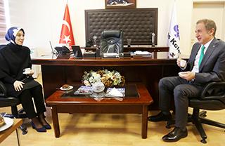 İstanbul Milletvekili Rümeysa Kadak Okulumuzu Ziyaret Etti