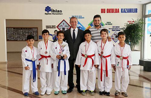 Öğrencilerimiz Antalya'dan Üç Şampiyon Çıkardı