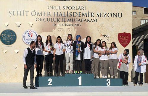 Genç Bayan Okçuluk Takımımız İstanbul Şampiyonu Oldu