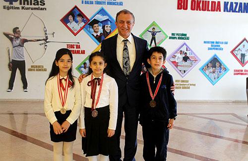 Öğrencimiz Teniste İstanbul Şampiyonu Oldu