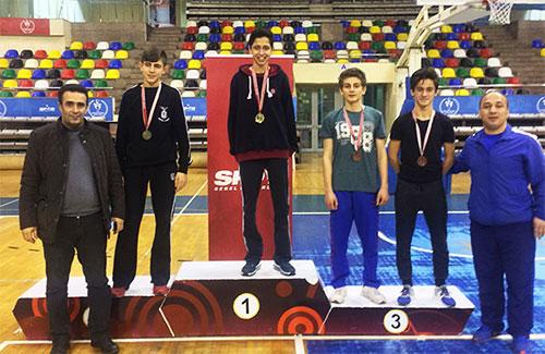 Öğrencimiz Güreşte İstanbul Şampiyonu Oldu