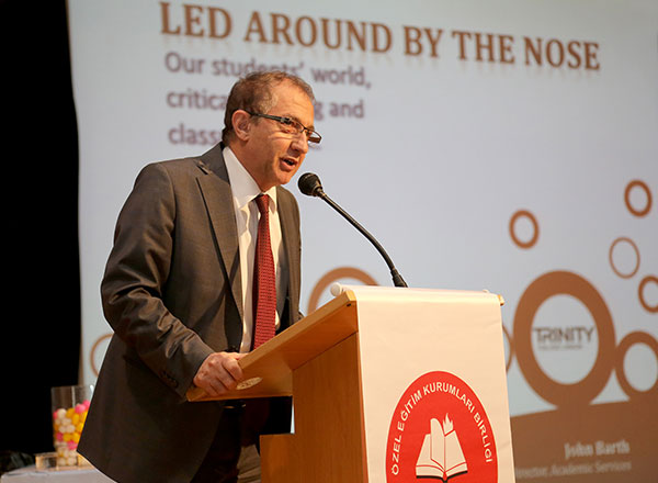 Özel Öğretim Kurumları Birliği Derneği (ÖZKUR-BİR) ve İNKAŞ'ın yabancı dil öğretmenlerine yönelik yapmış olduğu ELT Konferansı İhlas Koleji ev sahipliğinde düzenlendi.