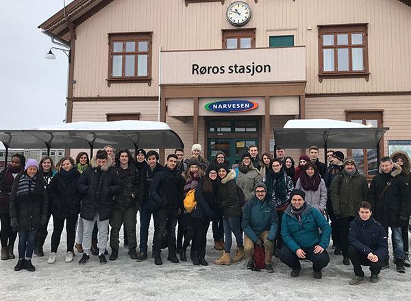 Öğrencilerimizin Erasmus Yolculuğu Devam Ediyor