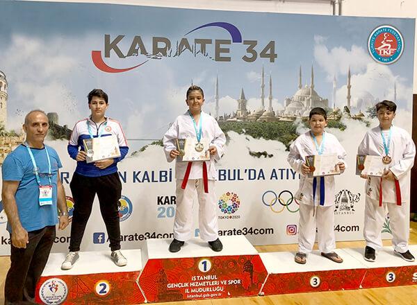 İhlas Koleji Karate Spor Kulübü 5. Galata Etap Karate 34 İstanbul Ligi müsabakalarında 3 birincilik, 1 ikincilik ve 4 üçüncülük elde etti.