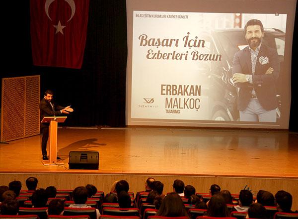 Küçük yaşta geldiği İstanbul'da araba tamirhanesinde başlayan hayat öyküsünün bugünlerinde ünlü markaların otomobillerini yeniden tasarlayarak tüm dünyaya satan ve markası Dizayn Vip ile önemli başarılar ve ödüller kazanan Erbakan Malkoç,