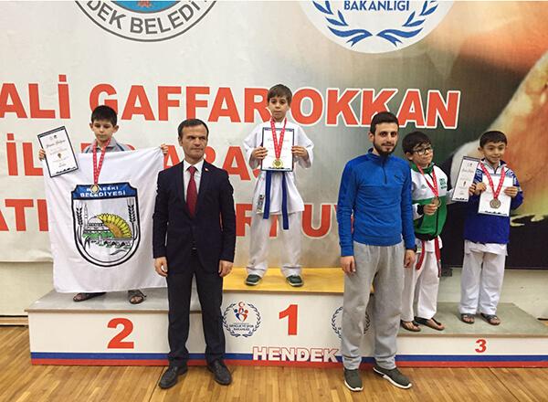 Sakarya'da düzenlenen Şehit Ali Gaffar Okkan İller Arası Karate Turnuvası'nda İhlas Koleji sporcuları üç birincilik, sekiz de üçüncülük elde ettiler.