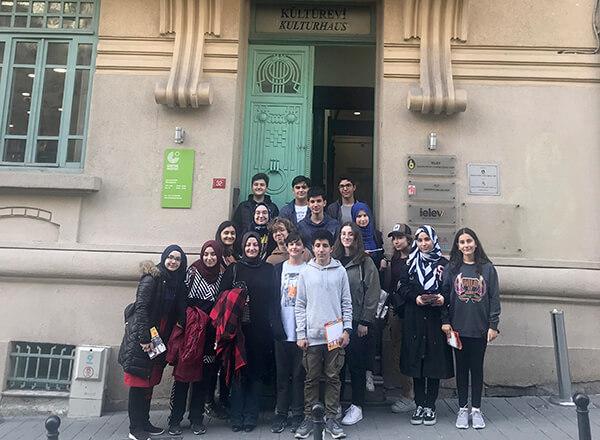 Öğrencilerimiz Goethe Enstitüsü'ndeki Etkinliğe Katıldı